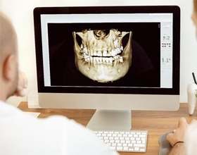 digital image of oral structures