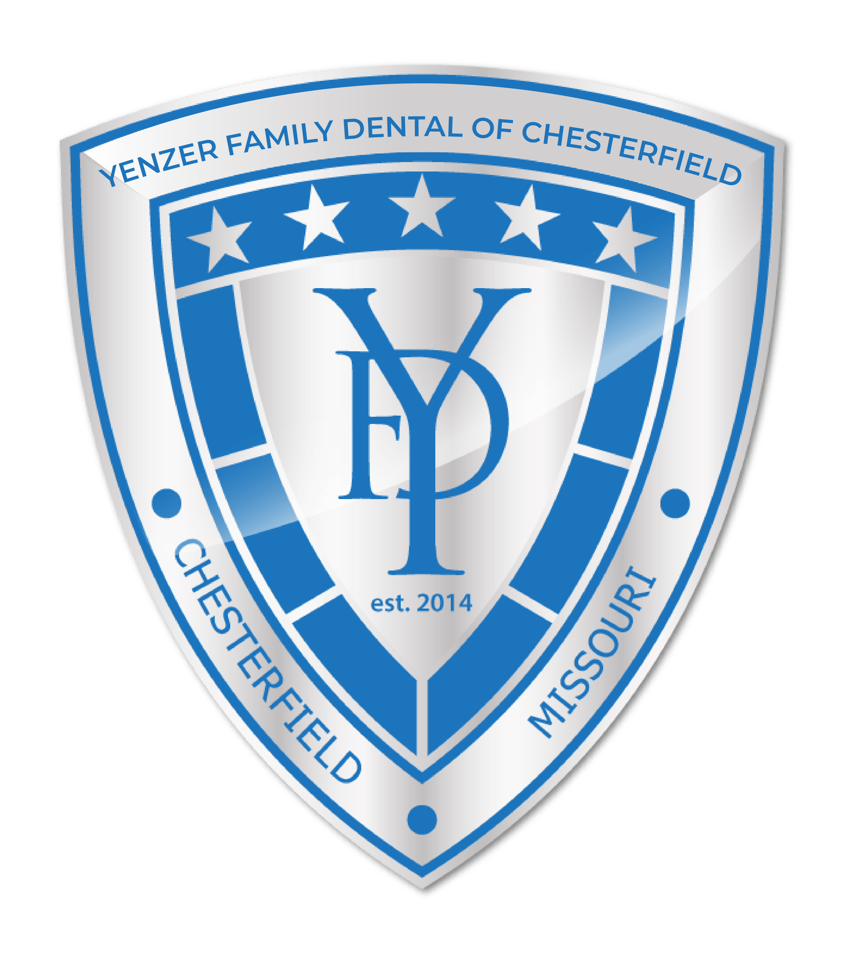 Yenzer Family Dental of Chesterfield logo